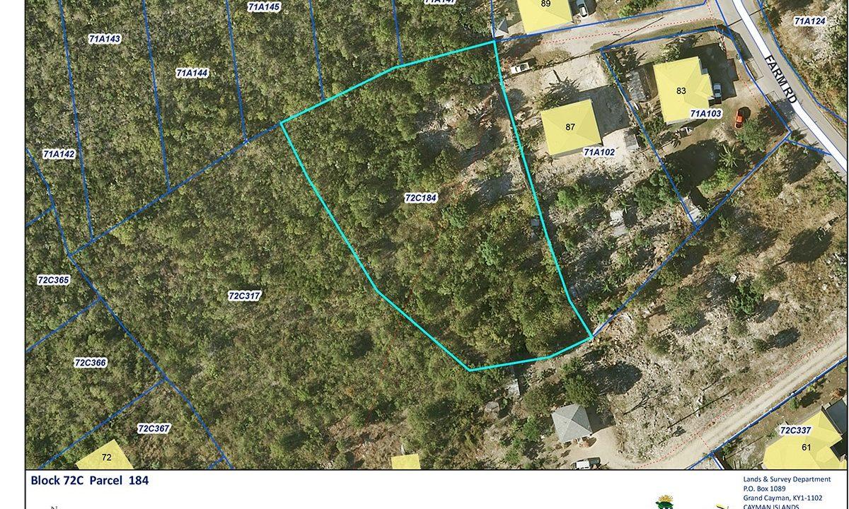 East End Land for 125,000 Farm Road N. Ebanks