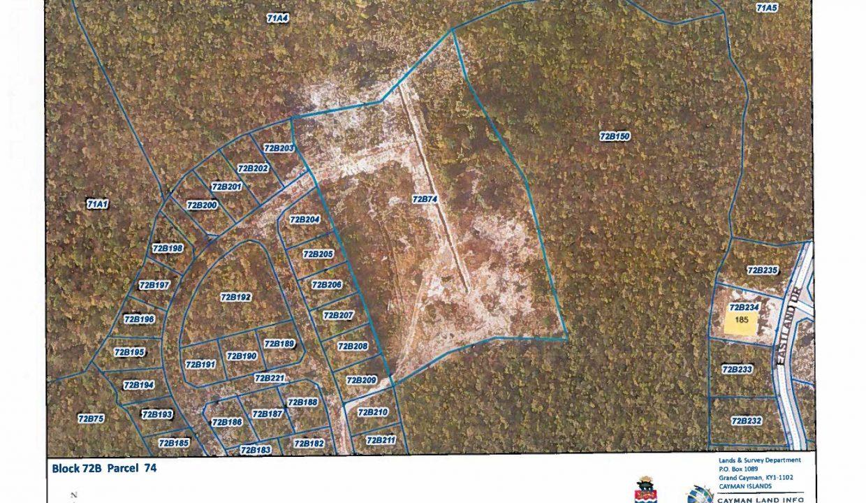 Map 72B 74 3.5 acres